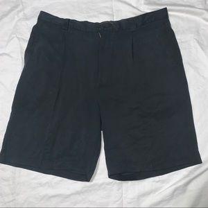 Tommy Bahama Men's Short Black 100% Silk Size 36